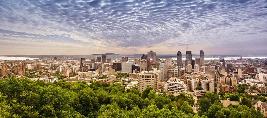 Mont-Royal August Montreal