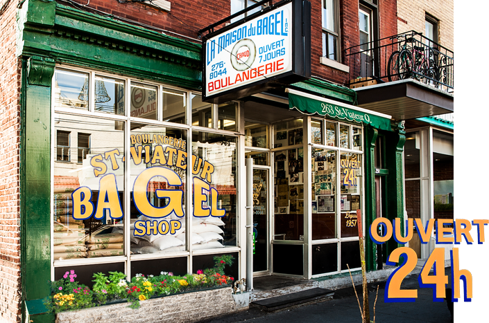 Bagels Montreal St-Viateur